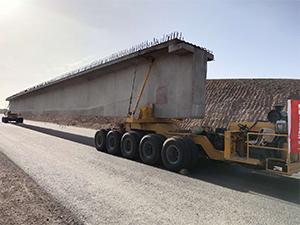 300吨铁路运梁车